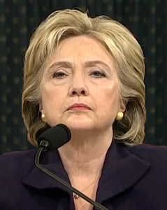 Former Secretary of State Hillary Clinton testified before the House Select Committee on Benghazi, which was investigating the events surrounding the September 11, 2012, terrorist attack on the U.S. consulate in Benghazi, Libya, in which Ambassador Christopher Stevens and three others died.